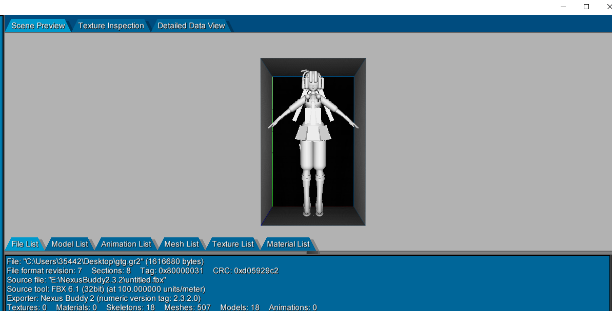 Please help me! About how to make the MMD model to the game