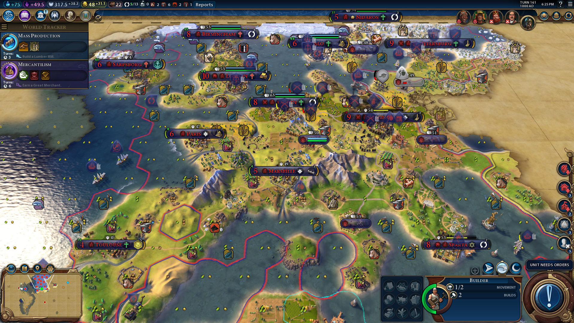 Best Civ for Real Start Earth Map in VI | Page 5 | CivFanatics Forums