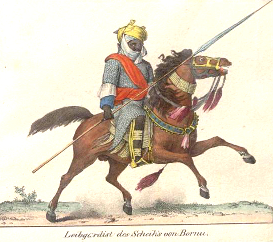 Bodyguard_of_the_Sheikh_of_Bornu,_early_1820's.jpg