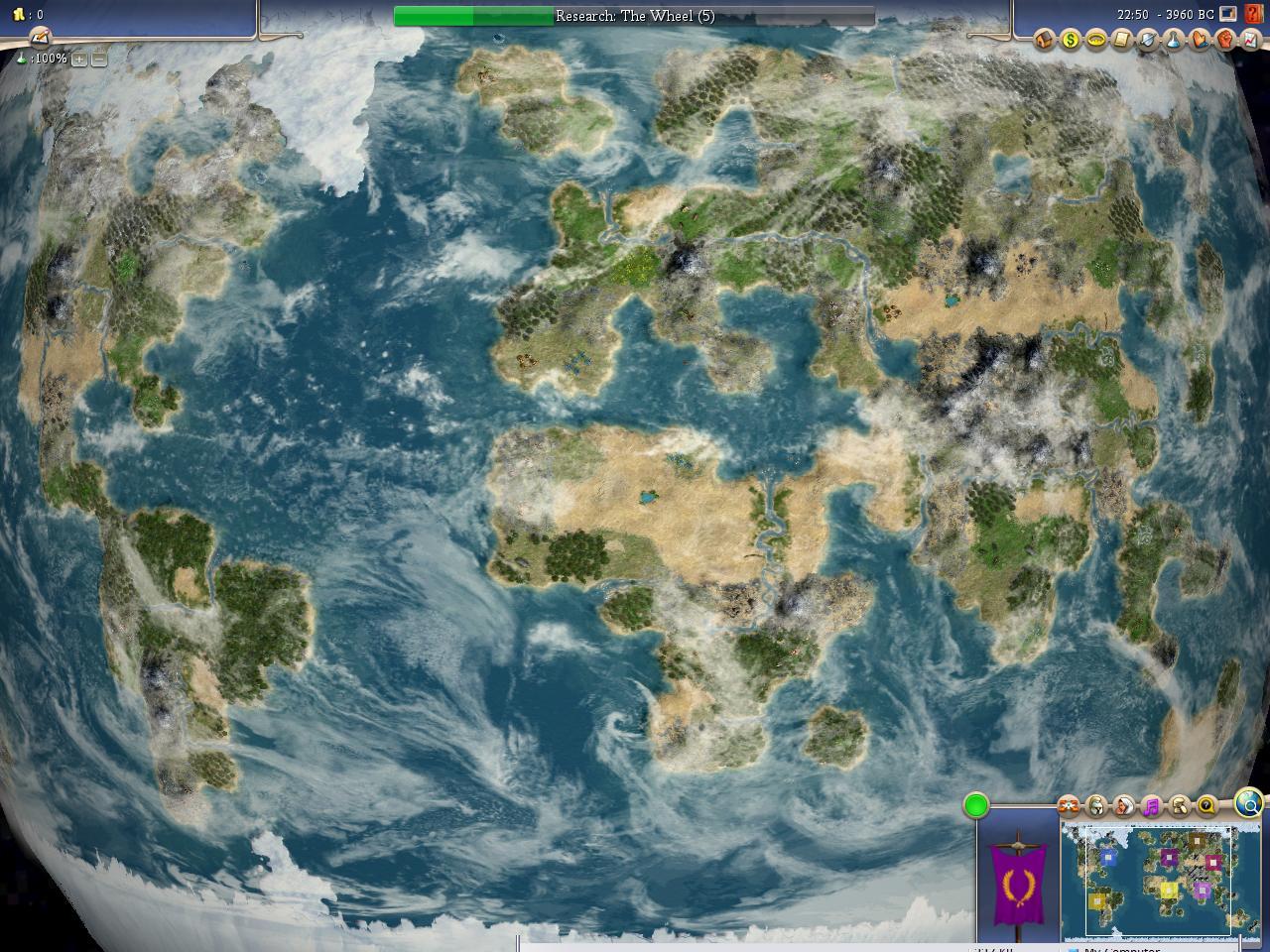 Earth map   CivFanatics Forums