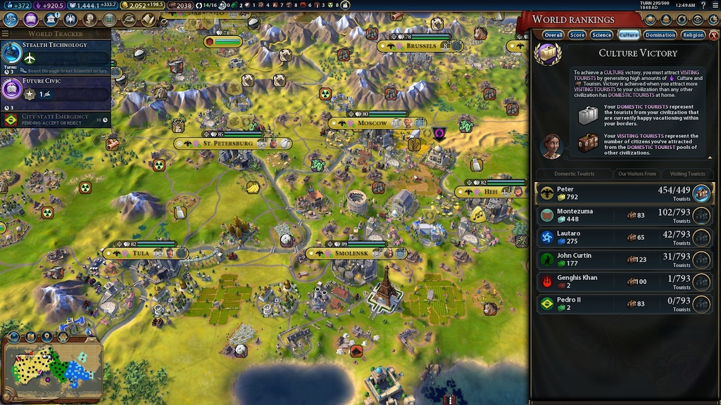R&F] - Culture Victory Strategy   CivFanatics Forums