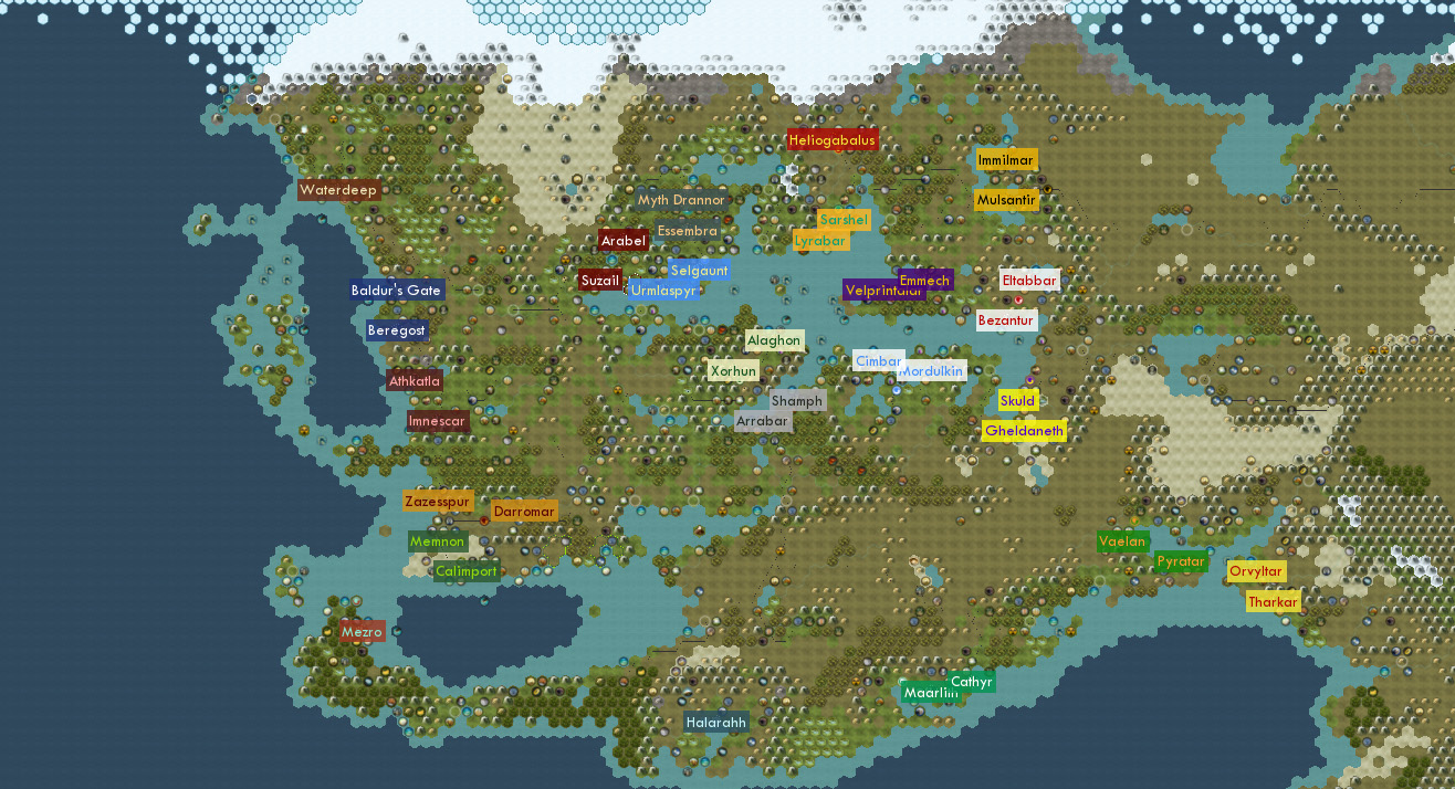 Faerun Map Pack Civfanatics Forums