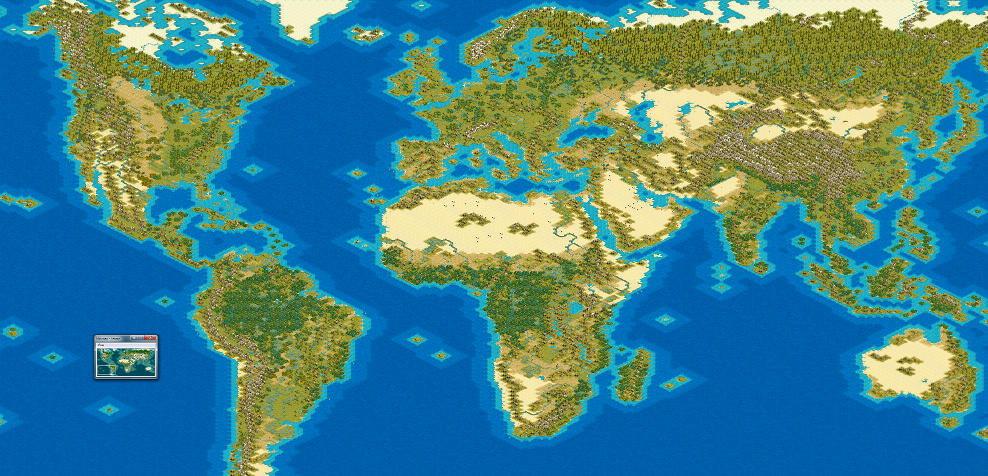 Earth Map | CivFanatics Forums