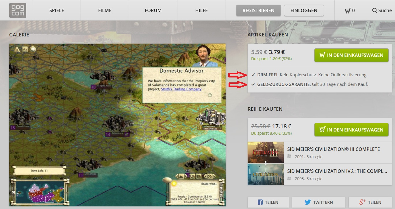 Civilization III Complete available at GoG! | CivFanatics Forums