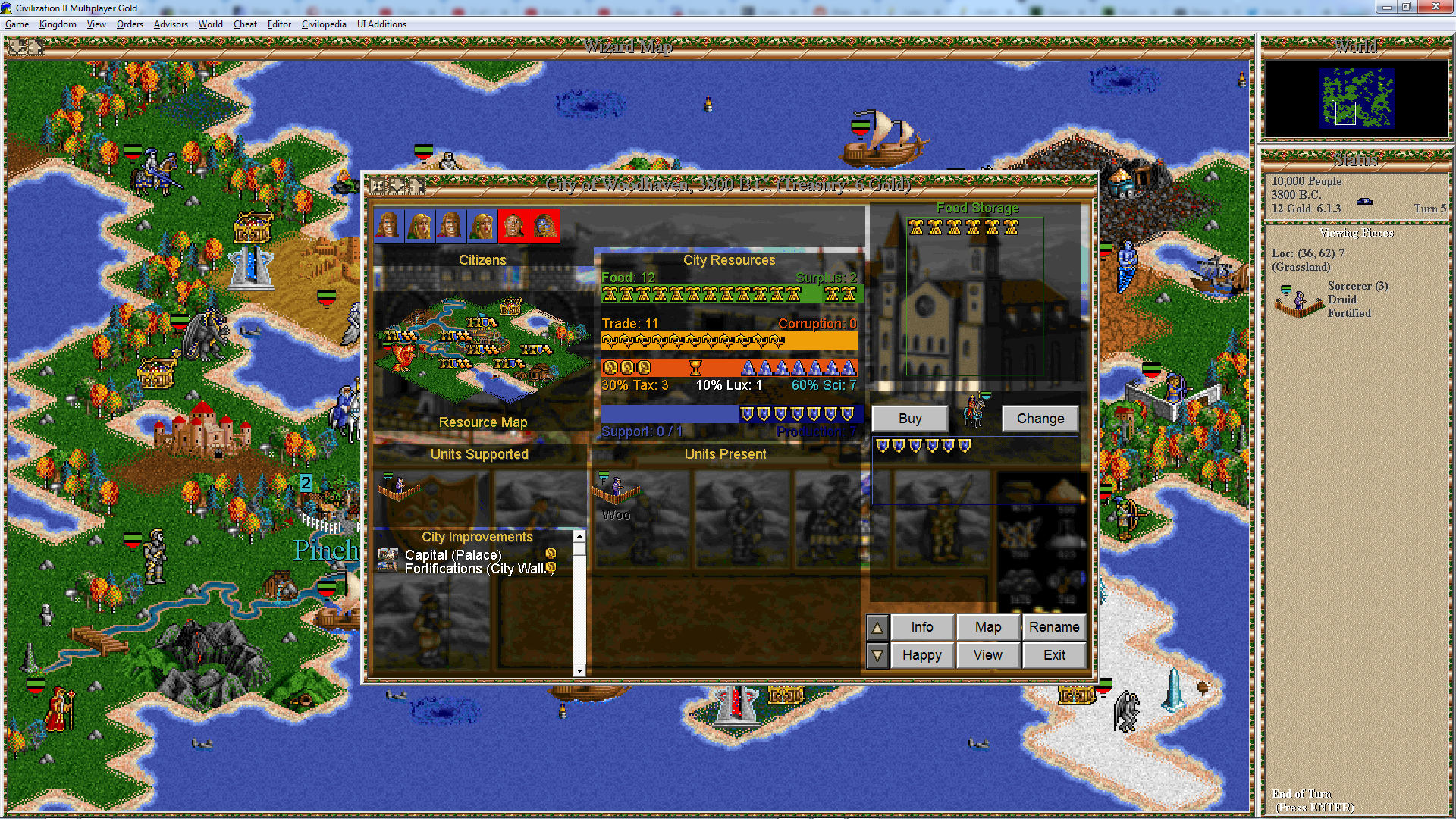 Heroes of Might & Magic 2 Civilization 2 Mod! Image19-png