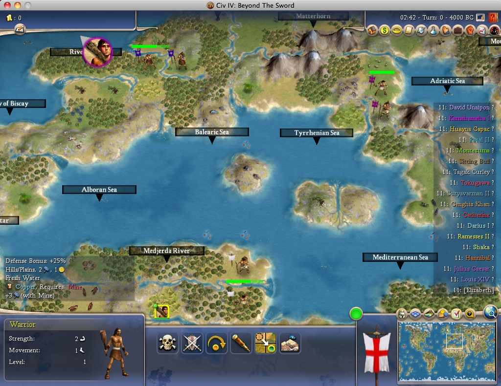BTS] New Terra: 84 x 52 Earth map, 18 fairly placed civs