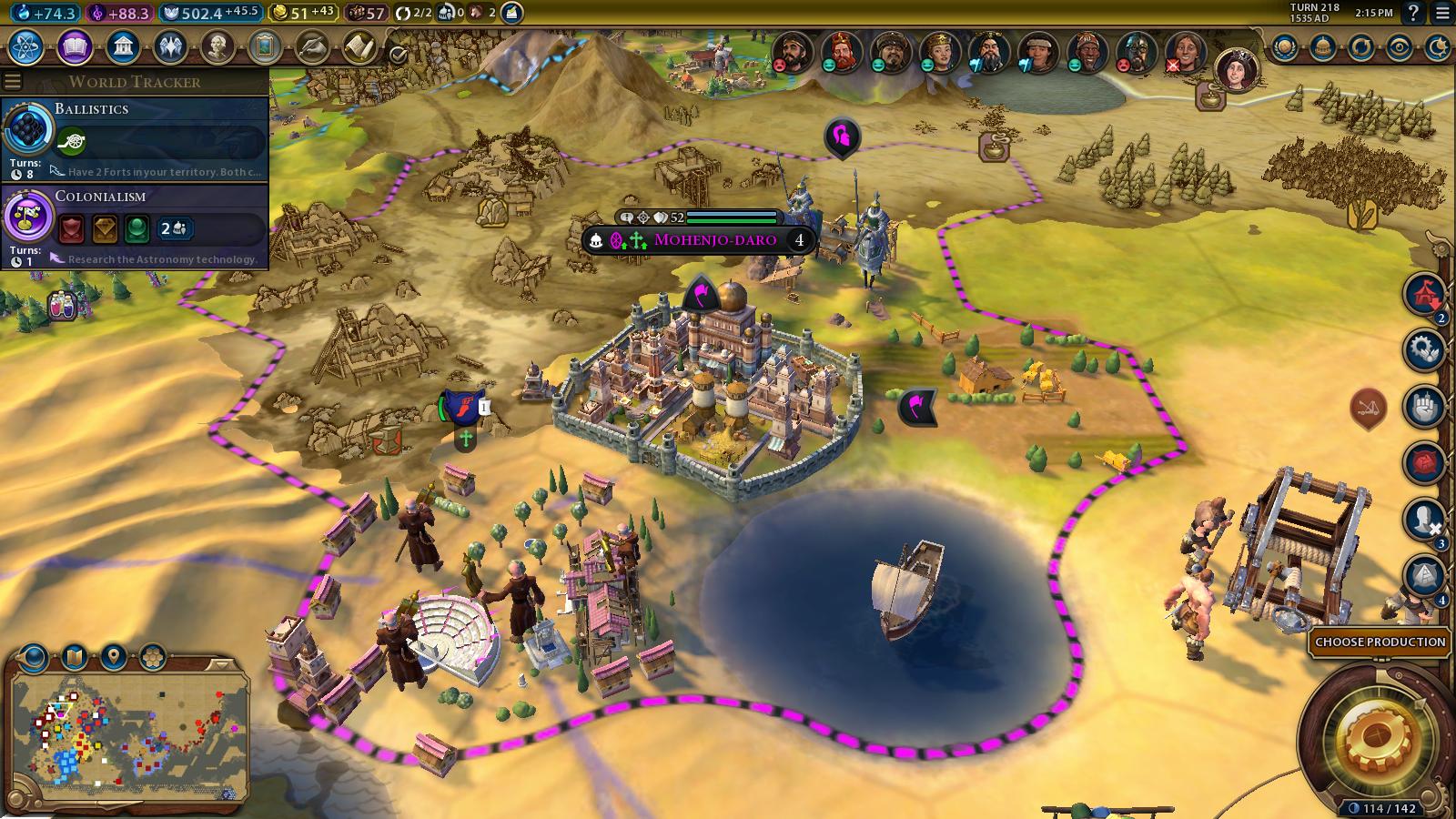Mohenjo-Daro settlers.png