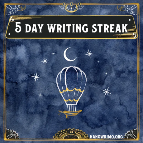 nanowrimo-2019-5-day-streak-badge.png