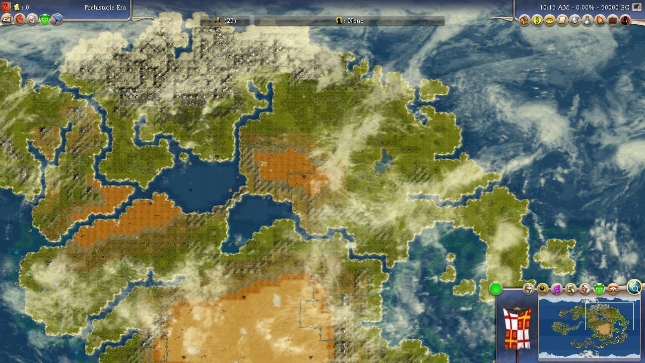 SCENARIO Avatar The Last Airbender Map CivFanatics Forums - Avatar the last airbender us map