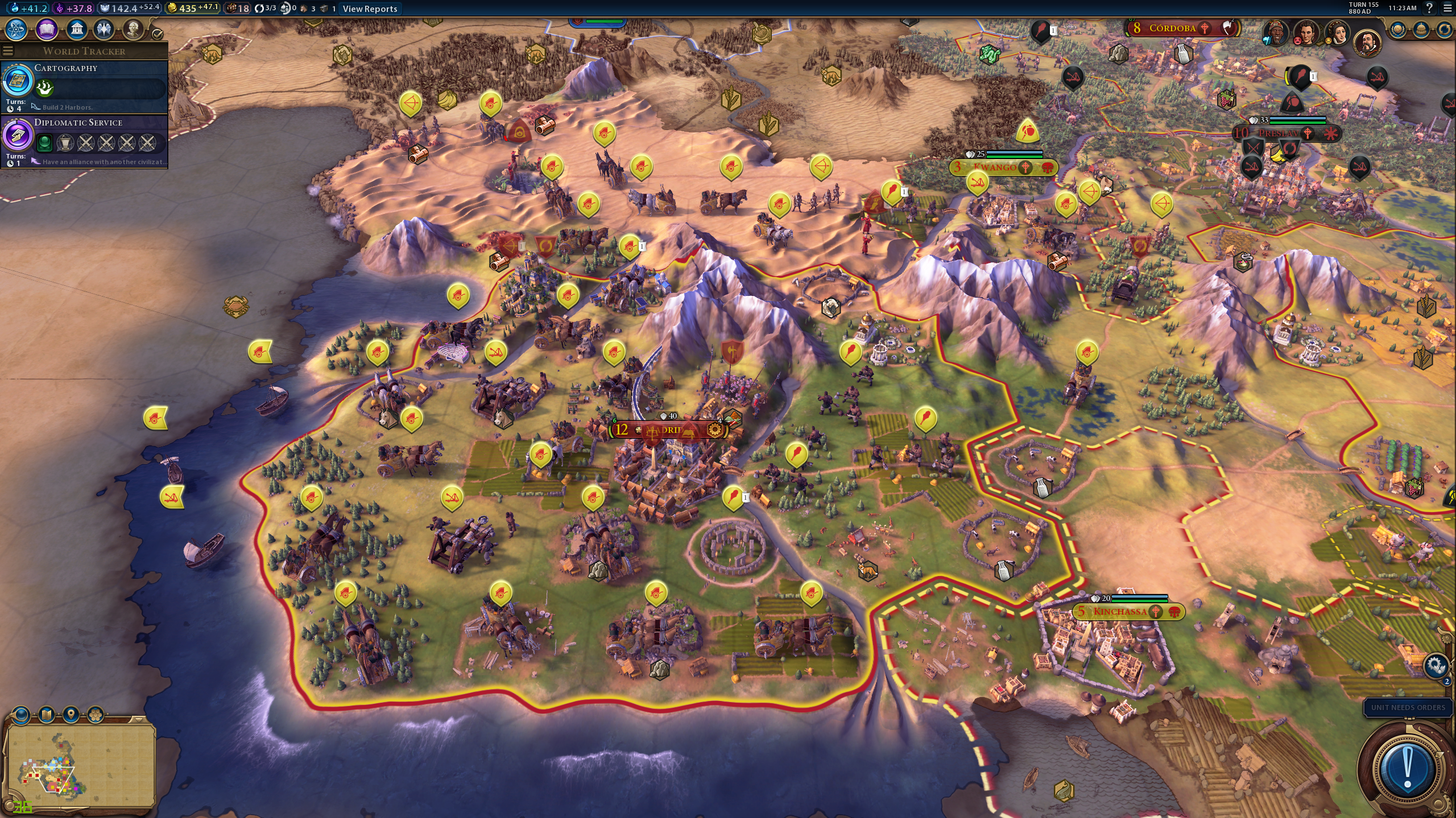 My Lands my lands are a parking lot for my ally s units civfanatics forums