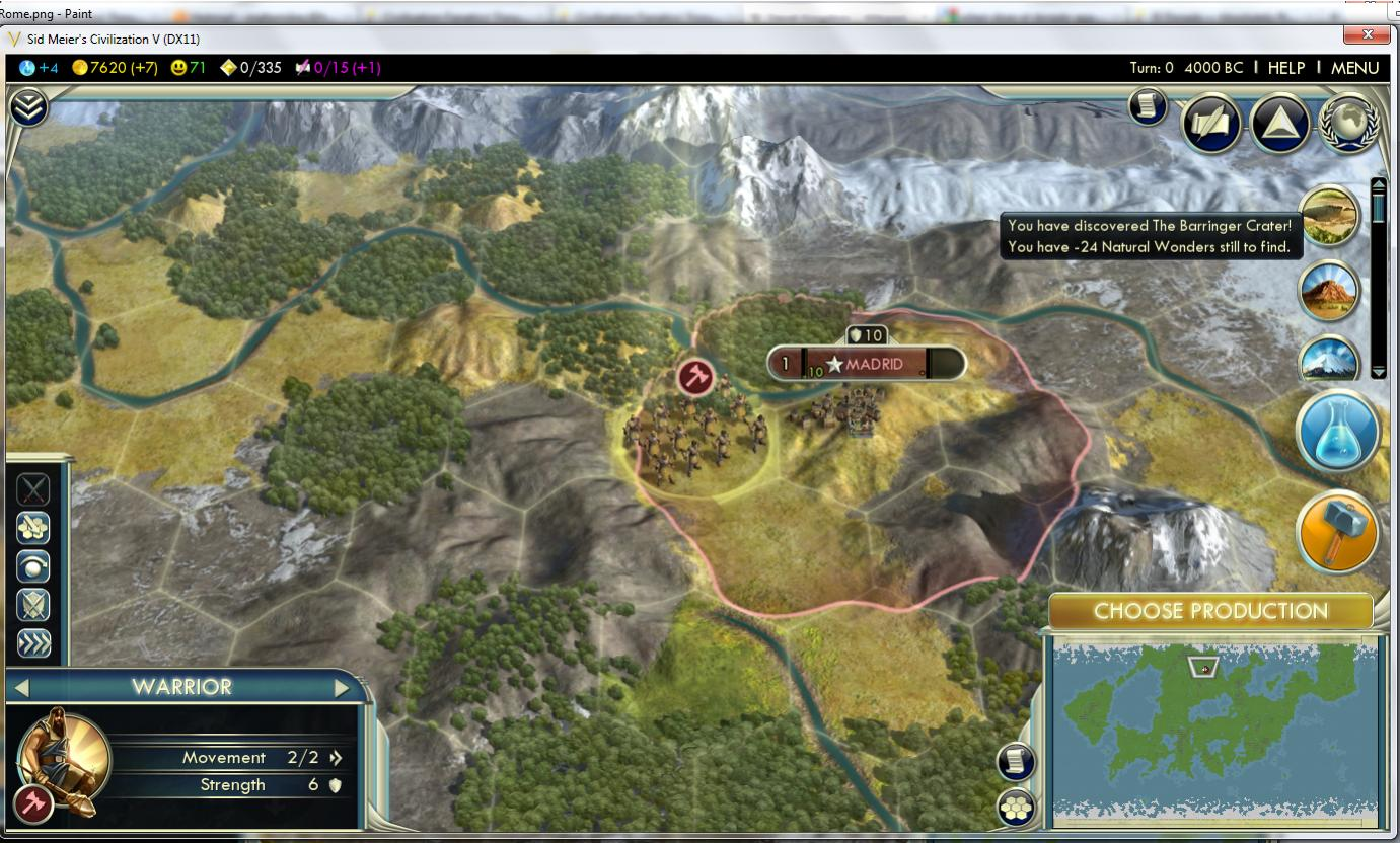Civilization 5. Cheats and Game Review 96