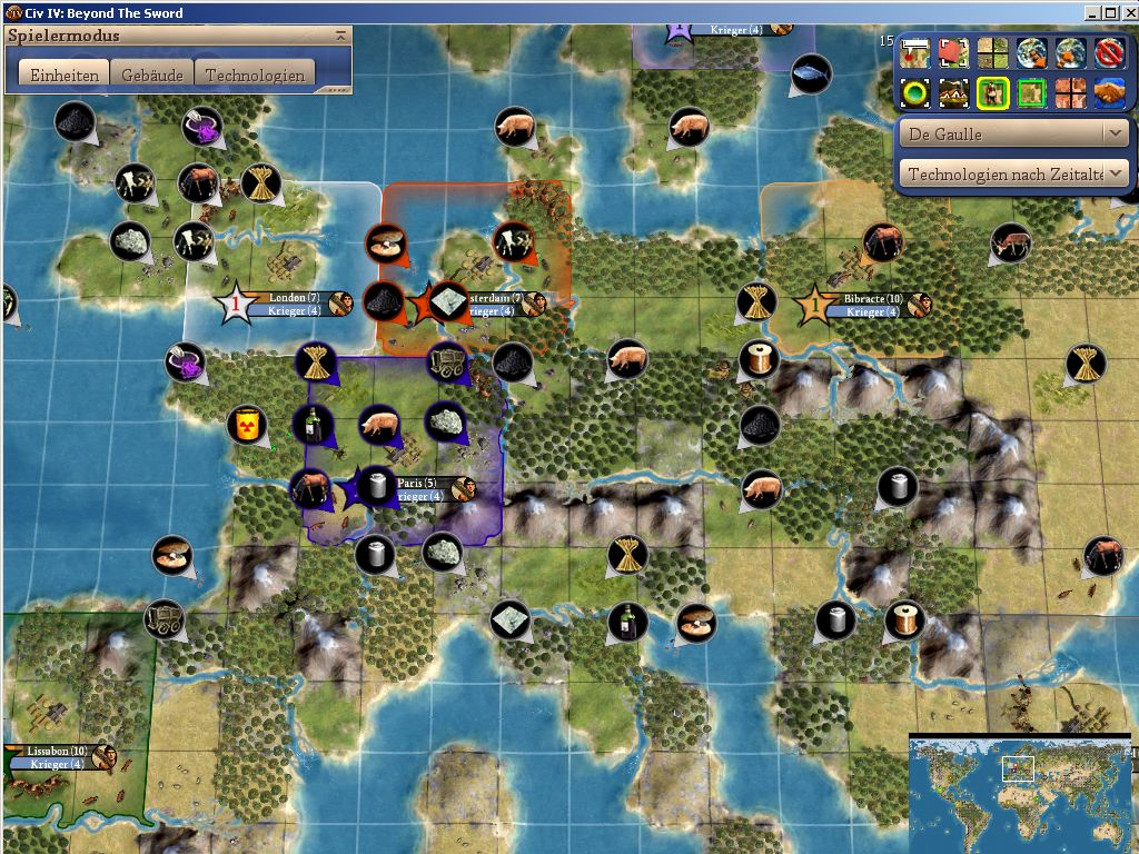 Maps with realistic starting positions for all civs | CivFanatics
