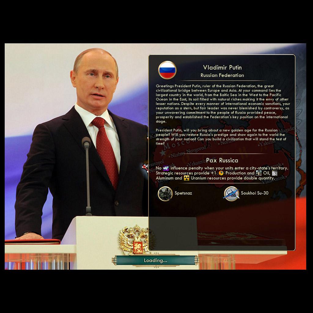Mez's Russia - Putin's Pax Russica   CivFanatics Forums