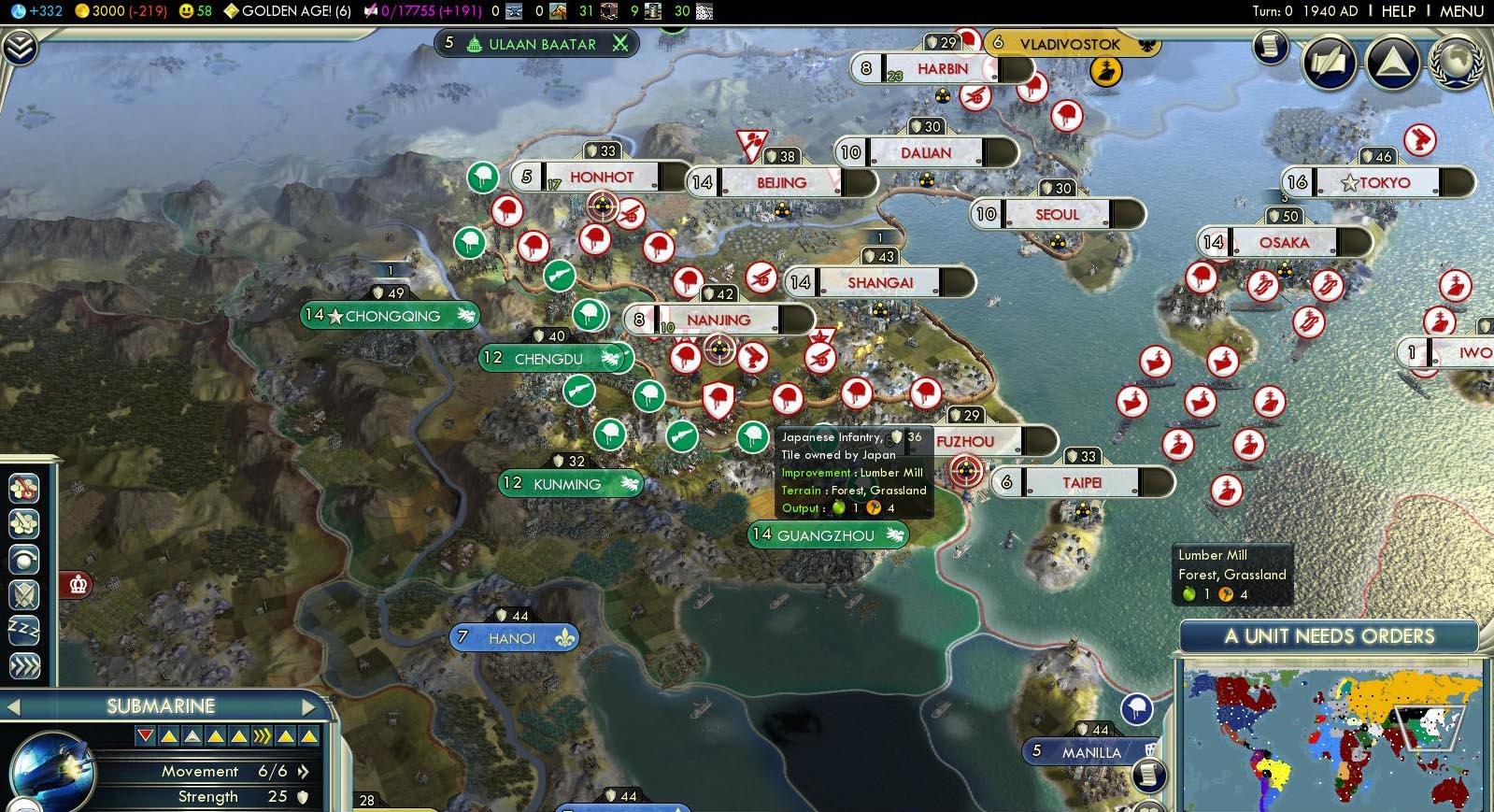 Grand Strategy WW2 | CivFanatics Forums