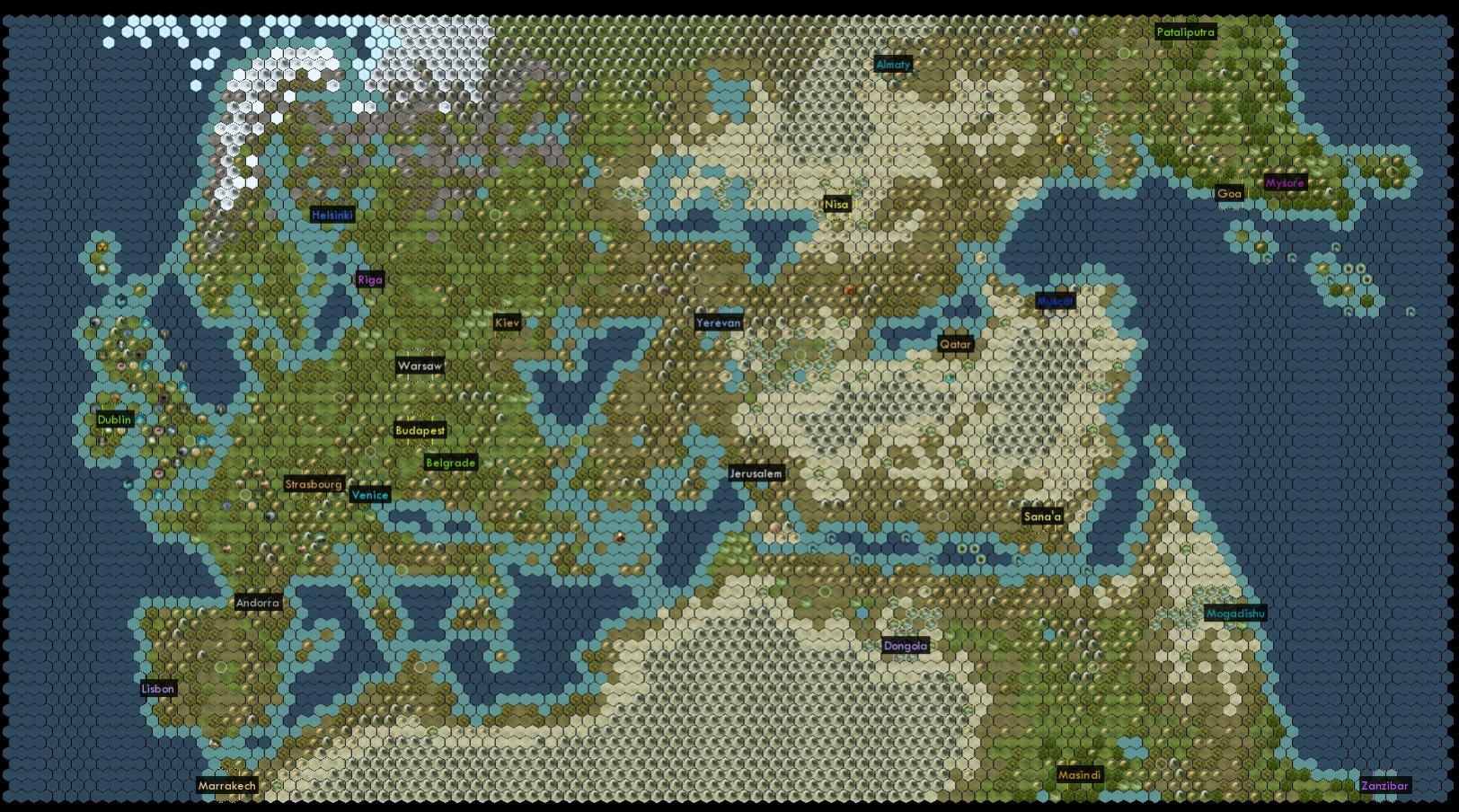 Rome Total War 2 Campaign Map What Areas Would You Like It To Cover