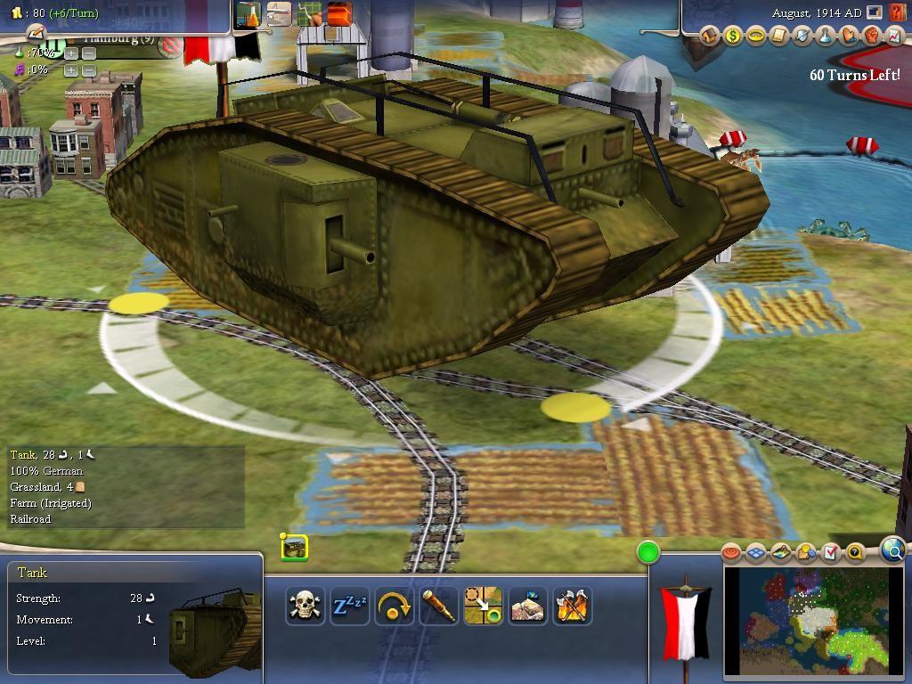 Mark V Tank | CivFanatics Forums